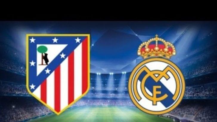 Real Madrid - Atletico Madrid maçı şifresiz hangi kanalda yayınlanıyor ?