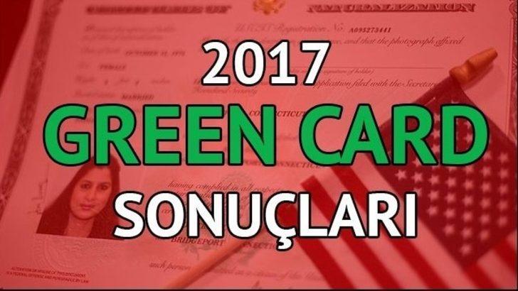 Green Card 2017 Başvuru sonuçları açıklandı! Green Card başvuru sonuçlarını nasıl öğrenebilirsiniz?