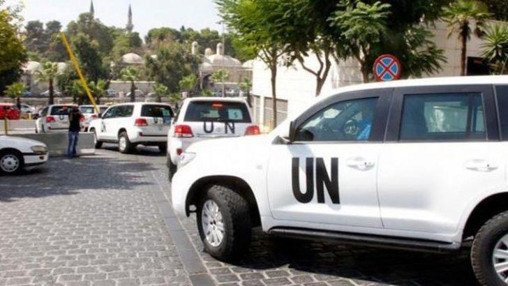 BM denetçilerine ateş açıldı
