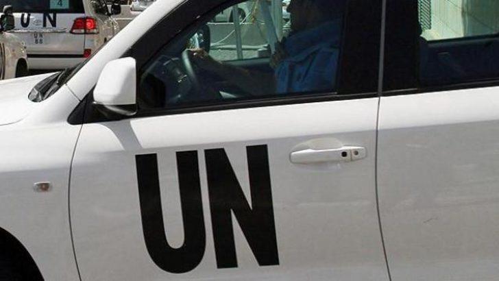 Suriye'de BM denetçilerine ateş açıldı