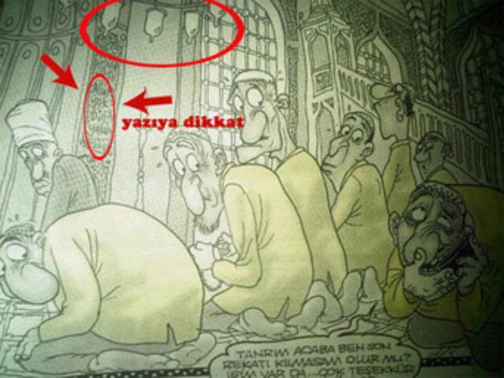 Penguen'in ortalığı karıştıran karikatürü