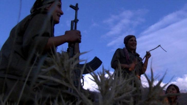Kandil'deki PKK'lı kadınlar