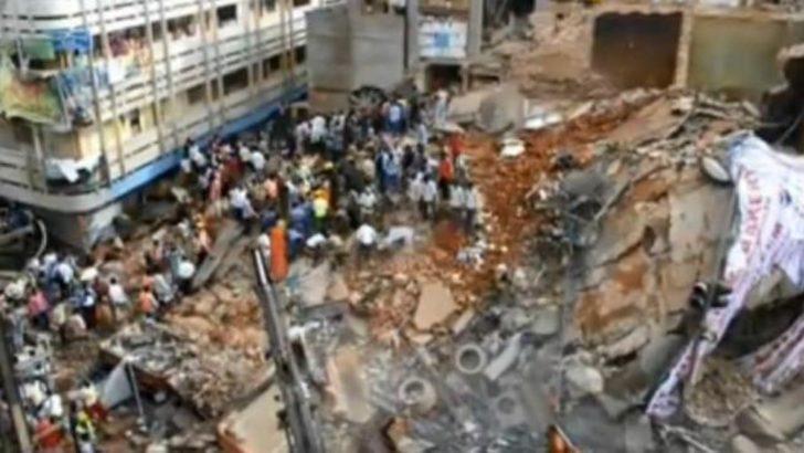 Hindistan'da otel çöktü: En az 12 ölü