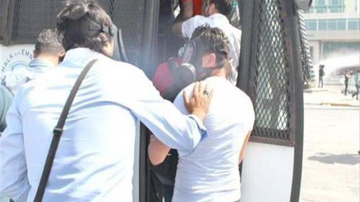 Taksim'de 8 kişiye tutuklama kararı