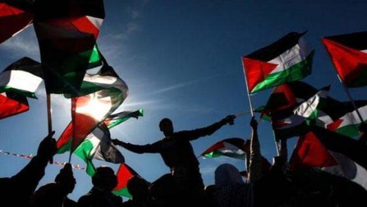 Filistin'de bayram havası
