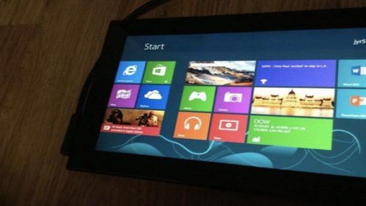 Nokia windows 8 tablet üzerinde çalışıyor