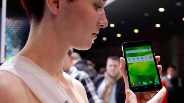 Çin'de akıllı telefon pazarı büyüyor