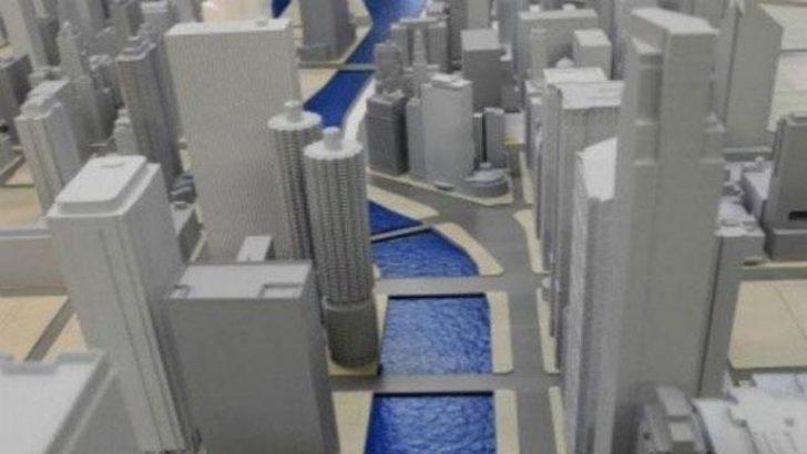 3D yazıcıyla Şikago haritası yaptılar