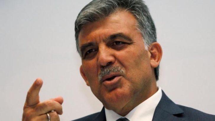 """Gül'den """"müdahale"""" açıklaması"""