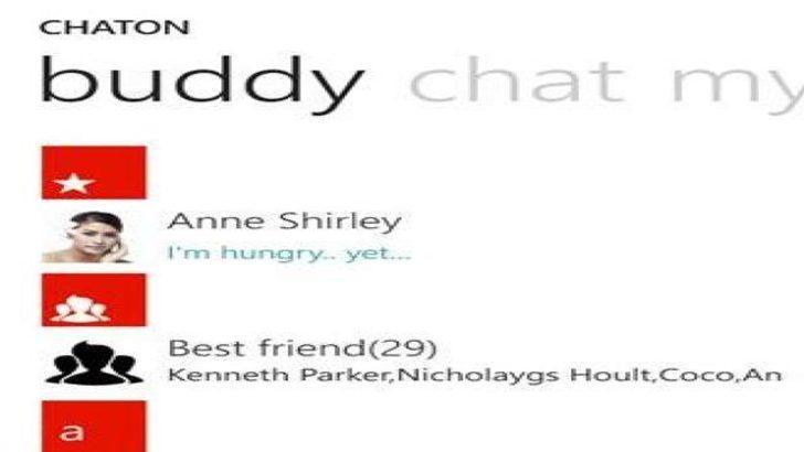 ChatOn uygulaması Windows Phone'a geldi