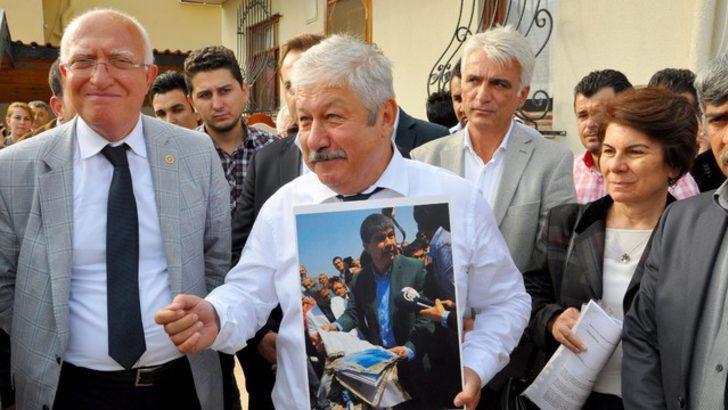 Mustafa Akaydın: 'İşte basıldı denen evim'