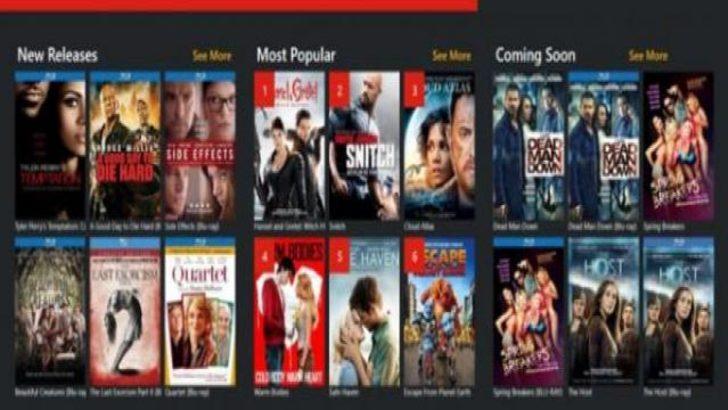 Redbox'ın windows 8 uygulaması yayınlandı