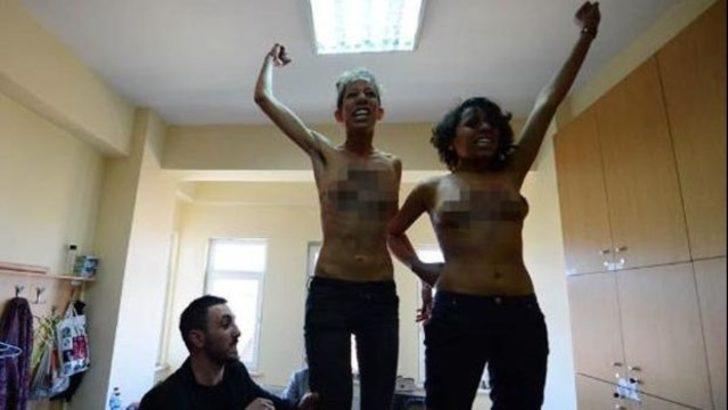 FEMEN üyelerine 3 yıl hapis istendi