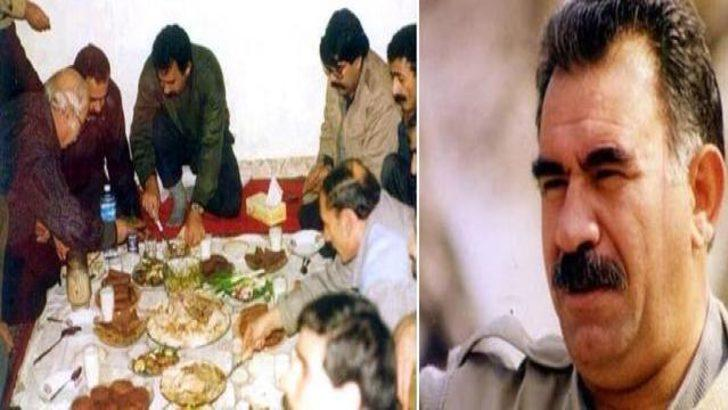 Öcalan ve PYD Lideri Müslim aynı sofrada