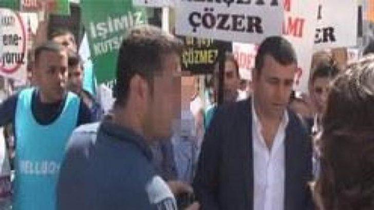 Taksim'deki yürüyüşü 'O' durdurdu