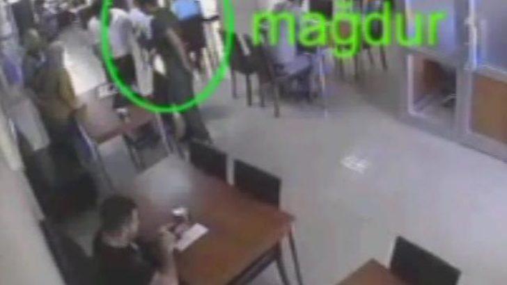 Tapu dairesi önünde soygun