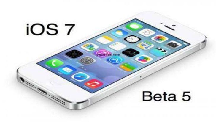 iOS 7 beta 5 ne zaman çıkacak?