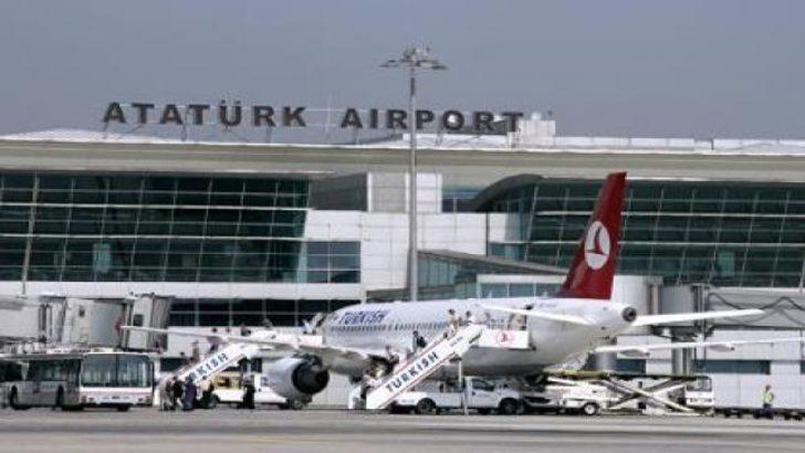 Atatürk Havalimanı'nda tatil rekoru!