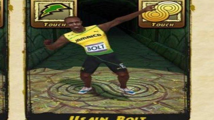 Temple Run 2′ye Usain Bolt da dahil oldu