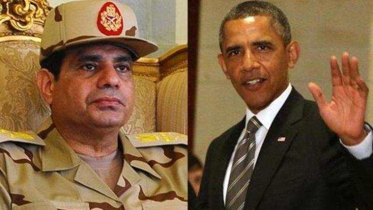 Sisi'den Obama'ya: 'Beni yarı yolda bıraktın'