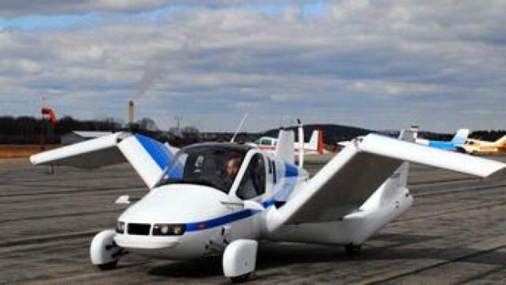 Uçan araba ilk uçuşunu yaptı