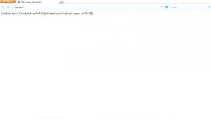 TGB'nin internet sitesi hacklendi