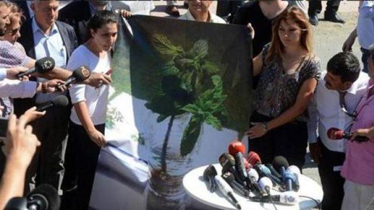 Çiçek ve Özkan'ın kızından eylem