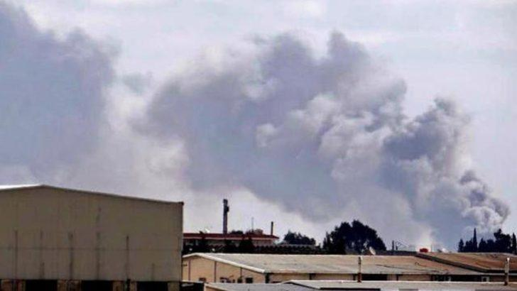 Askeri havaalanı El Kaide'nin elinde