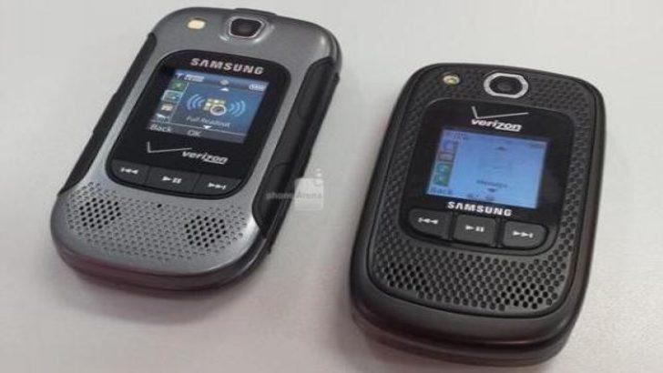 Samsung'dan farklı bir telefon daha