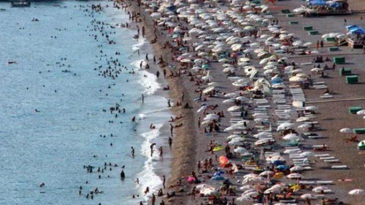 Yoğunluk plaj kapattırdı