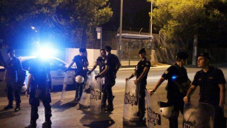 Yunanistan'da göçmen kampında isyan