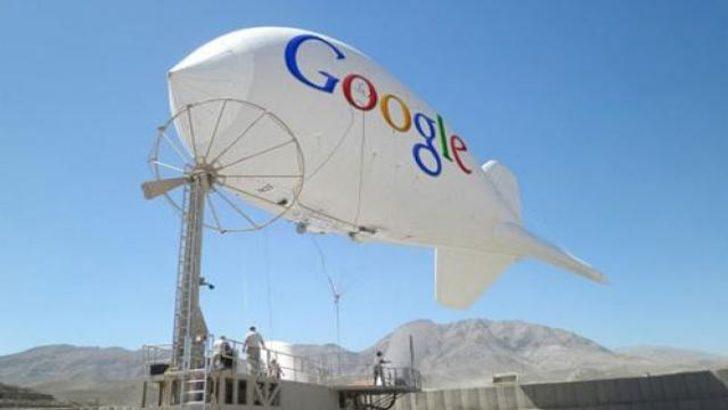 Wi-Fi balonlarının testine başlandı