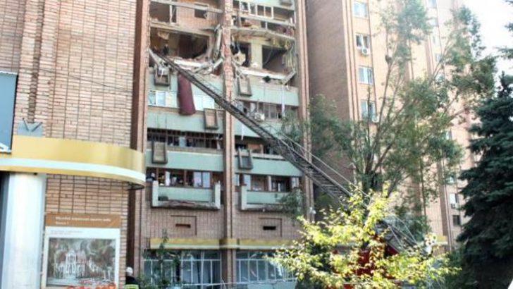 Ukrayna'da apartmanda gaz patlaması: 2 ölü, 10 yaralı