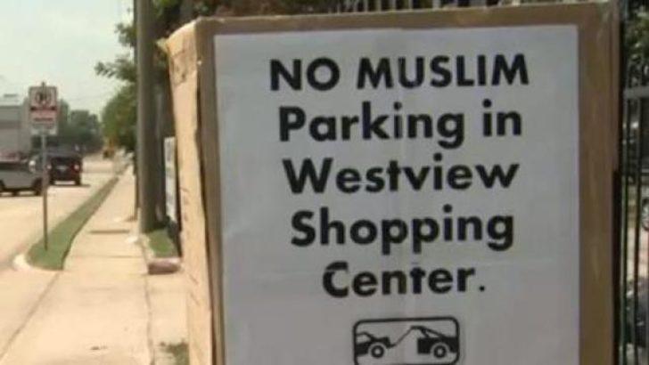 Müslümanlar park edemez!