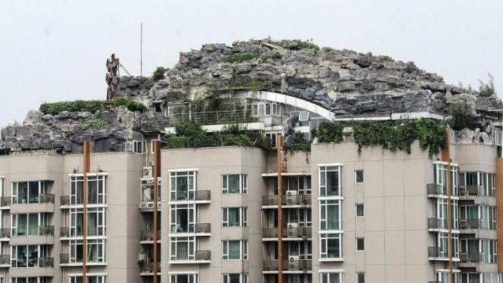 Apartman tepesindeki villaya yıkım kararı