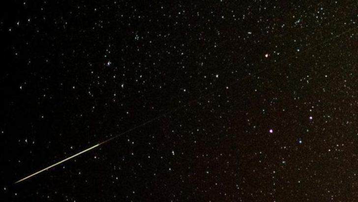 Perseid meteor yağmuru büyüledi