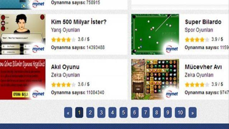 Mynet Yeni Flash Oyunlar Sayfası ile En Güzel Oyunlar Sizlerle