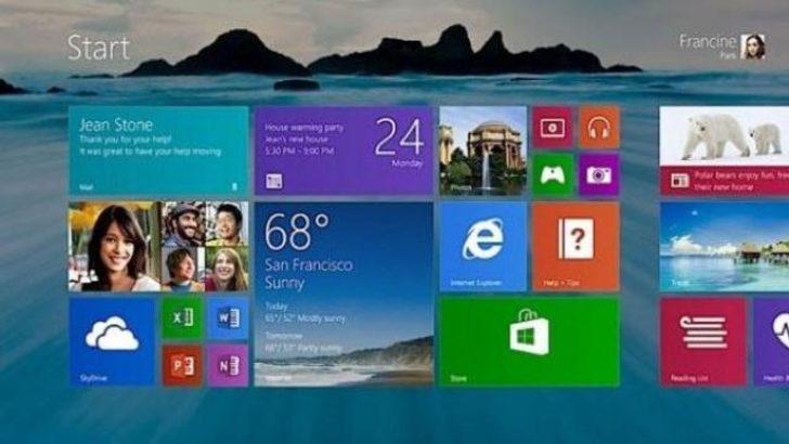 Windows 8.1 Ekim ayında
