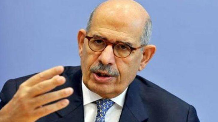 Mısır'da Baradey'den şok istifa