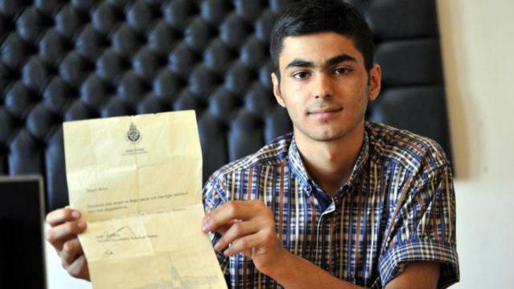Boğaz'a teleferik projesi bir öğrenciye ait!