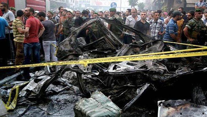 Beyrut'ta şiddetli patlama!