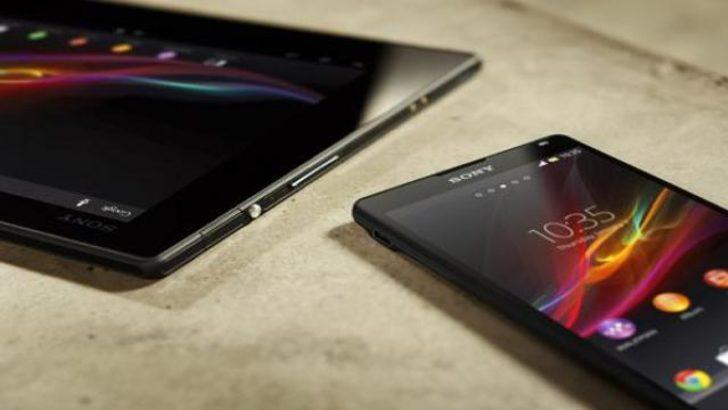 Xperia Tablet Z sahneye çıkıyor