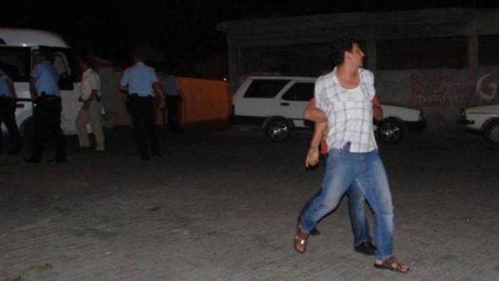 Aydın'da polisi taşladılar