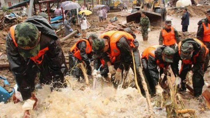 Çin ve Rusya'da sel felaketi