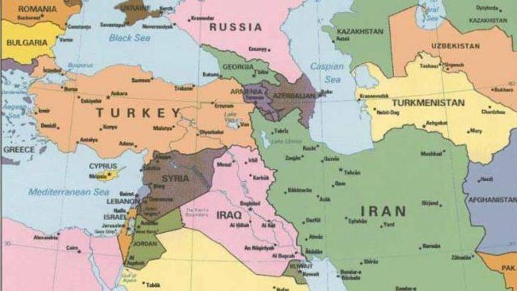 Dünya haritası yeniden çizilecek 23