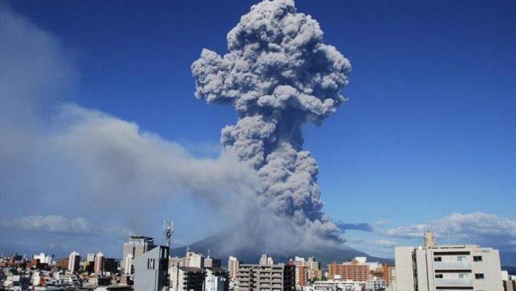 Sakurajima yanardağı faaliyete geçti