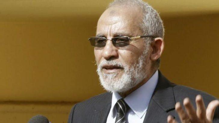 Müslüman Kardeşler lideri Bedii yakalandı