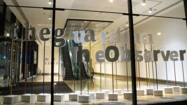 Guardian'a İngiliz hükümetinden baskı