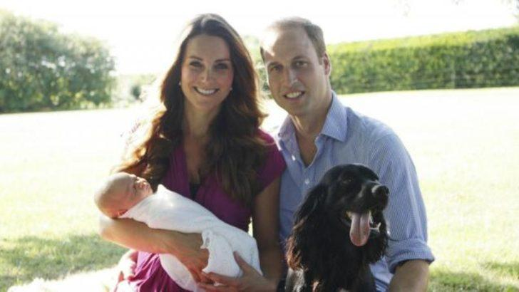 Dedesinin objektifinden Prens George...