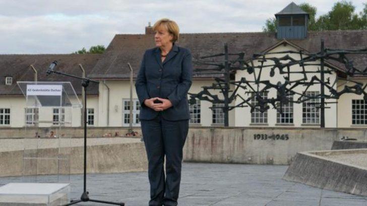 Merkel'den eleştirel ziyaret!